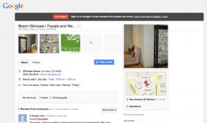 Bloom Skincare on Google+