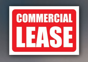 Commercial Lease sign