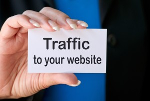 How do you increase traffic to your website?