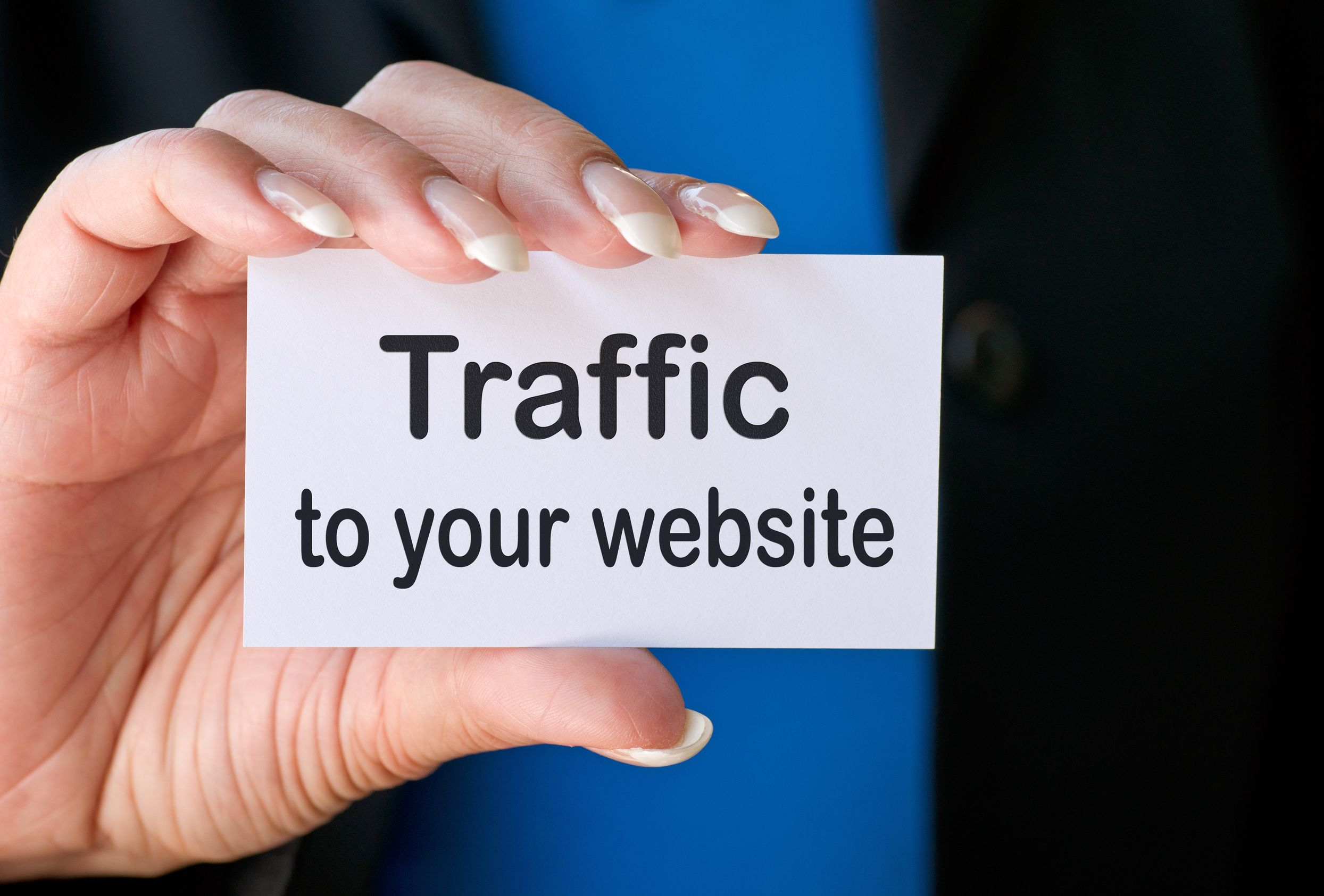 How do you get traffic to your website?