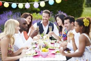 outdoor celebration